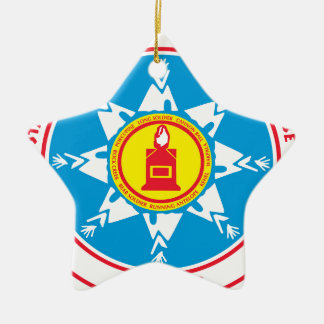 Standing Rock tribe logo Christmas Ornament