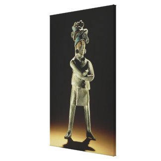 Standing royal figure canvas print