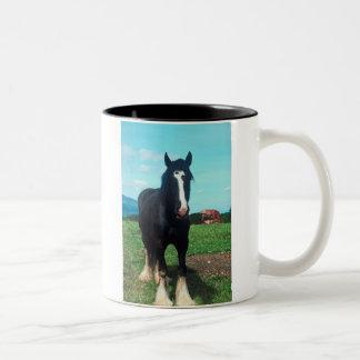 Standing Shire Two-Tone Coffee Mug