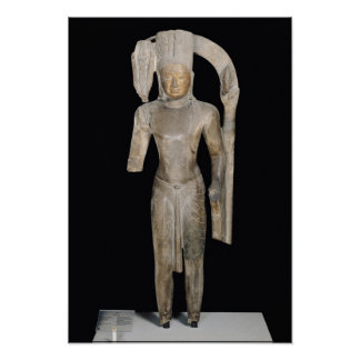 Standing statue of Harihara Poster