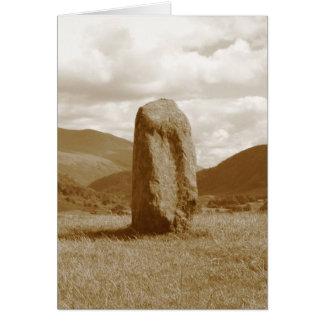 Standing Stone card no border