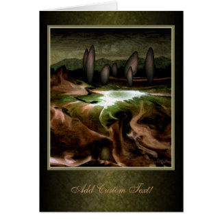 Standing Stone Circle Greetings Card