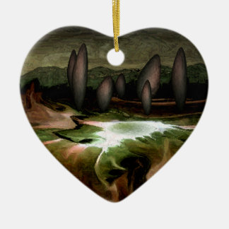 Standing Stone Circle Personalized Ornament
