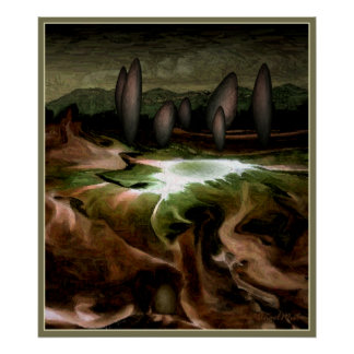 Standing Stone Circle Poster from 11 40