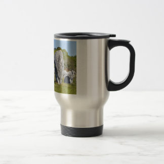 Standing stones at Carnac in France Coffee Mug