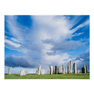 Standing Stones of Callanish 1 Poster