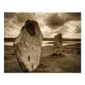 Standing Stones of Callanish Photo Art