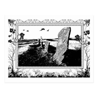 standing stones post card