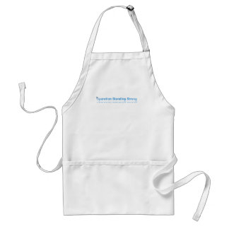 Standing Strong Adult Apron