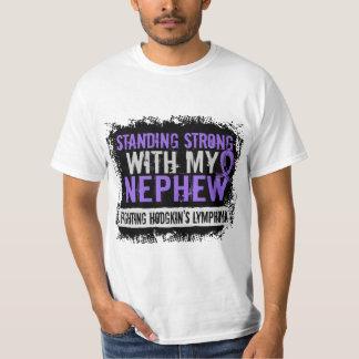 Standing Strong Nephew Hodgkins Lymphoma T-Shirt