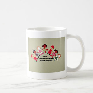 Standing together against bullying mug