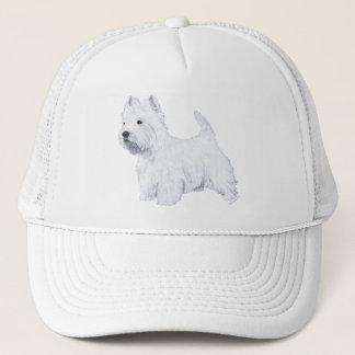 Standing Westie Trucker Hat