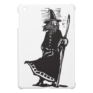 Standing Wizard with Staff Cover For The iPad Mini