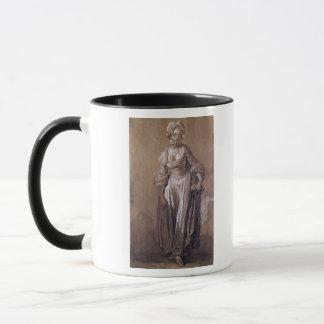 Standing Young Girl Mug