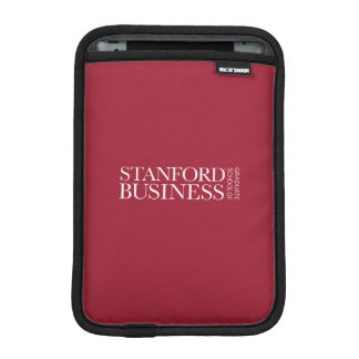 Stanford GSB - All-White Mark iPad Mini Sleeve