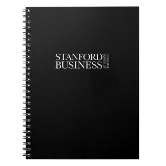 Stanford GSB - All-White Mark Notebooks