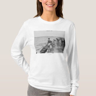 Stanford Rowing Crew Team Photograph T-Shirt