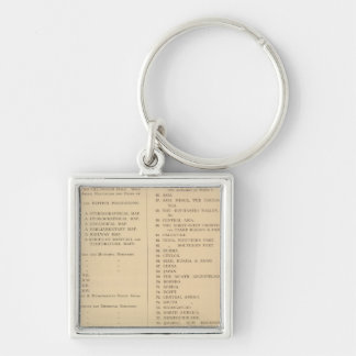 Stanford's London atlas of universal geography Key Ring