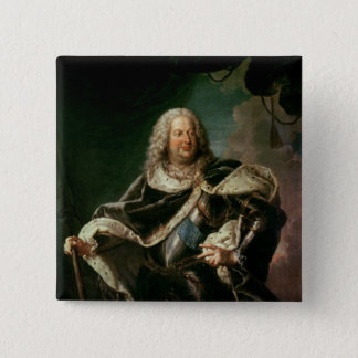 Stanislas Lesczinski  King of Poland 15 Cm Square Badge