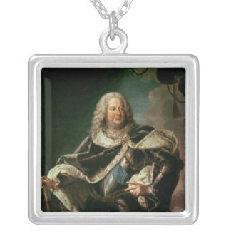 Stanislas Lesczinski  King of Poland Silver Plated Necklace