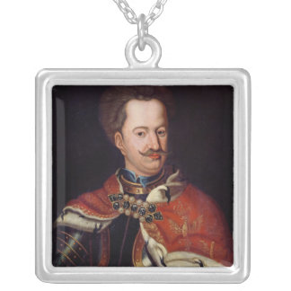 Stanislaw I Leszczynski Silver Plated Necklace