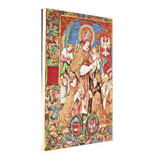 Stanislaw Samostrzelnik - StStanislaus and King Stretched Canvas Prints