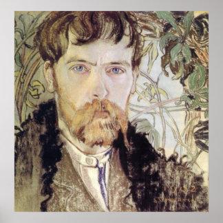 Stanislaw Wyspianski Self Portrait, 1902 Poster