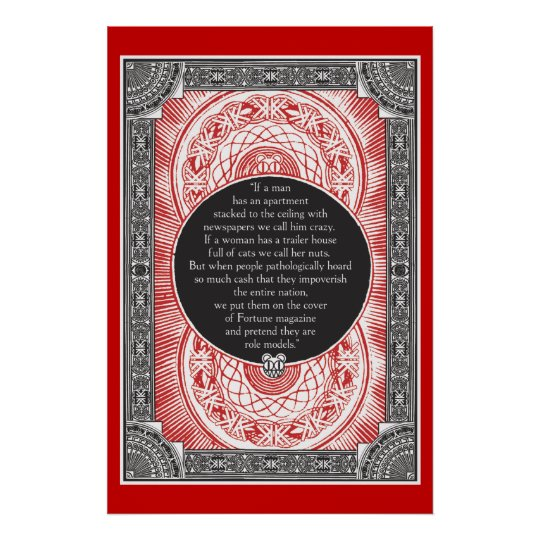 Stanley Donwood Occupy Wall Street Print