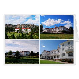 Stanley Hotel, Estes Park, Colorado Collage Greeting Card