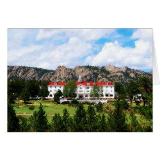 Stanley Hotel, Estes Park, Colorado Greeting Card