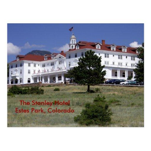 Stanley Hotel postcard