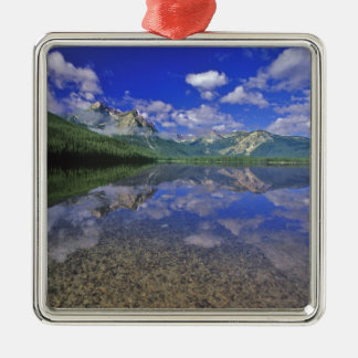 Stanley Lake in the Sawtooth Mountains of Idaho Christmas Ornament