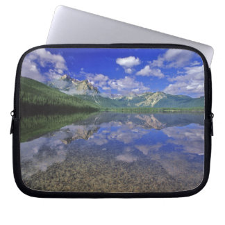 Stanley Lake in the Sawtooth Mountains of Idaho Laptop Sleeve