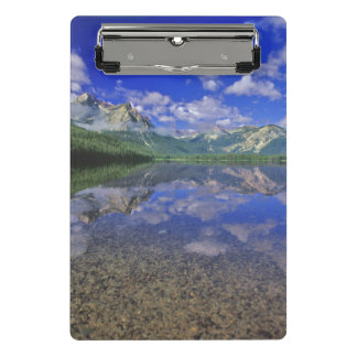 Stanley Lake in the Sawtooth Mountains of Idaho Mini Clipboard