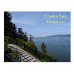 Stanley Park, Vancouver, BC Postcard