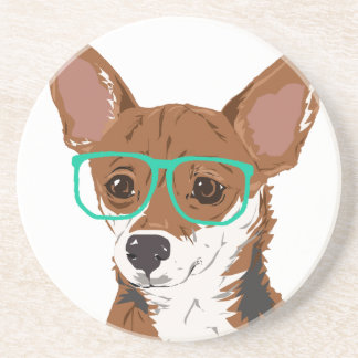 Stanley the Chihuahua mix Coaster