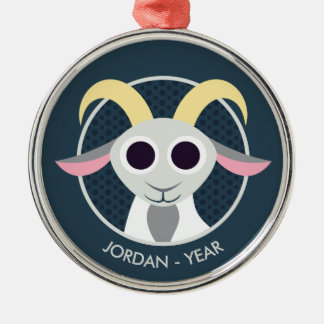 Stanley the Goat Christmas Ornament