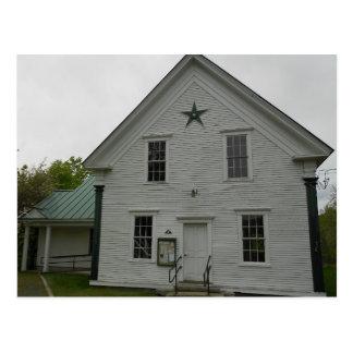 Stannard Vermont Town Hall Postcard