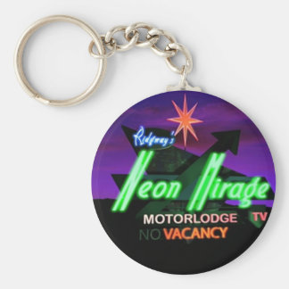 StanRidgway_NeonMirageSign Key Ring