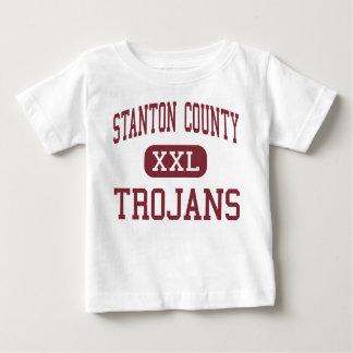 Stanton County - Trojans - High - Johnson Kansas T-shirt