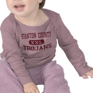 Stanton County - Trojans - High - Johnson Kansas Shirts