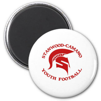 Stanwood Camano Youth Football 6 Cm Round Magnet