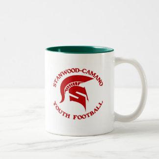 Stanwood Camano Youth Football Two-Tone Coffee Mug