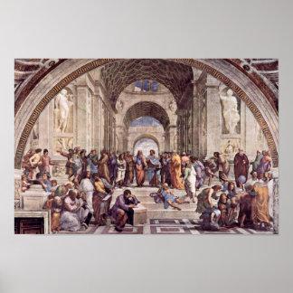 Stanza Della Signatura In The Vatican For Pope Jul Print