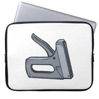 Staple Gun Computer Sleeve