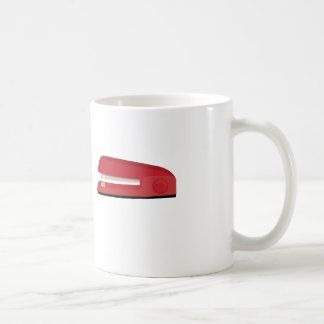 Stapler Basic White Mug