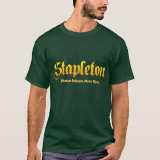 Stapleton State island,New York (Forest Green) T-Shirt