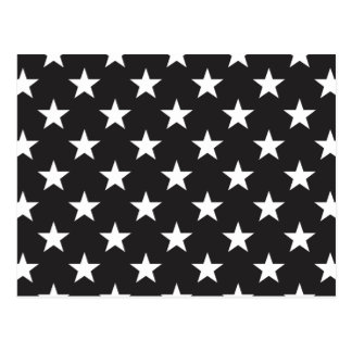 Star 1 Black and White Postcard