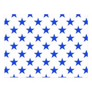 Star 1 Blue Postcard