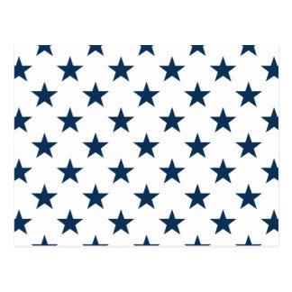 Star 1 Dazzling Blue Postcard